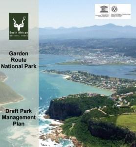 Garden Route National Park draft management plan