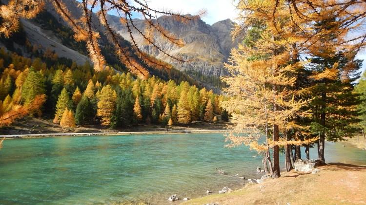 Lac de l'Orceyrette ©M. Ducroux