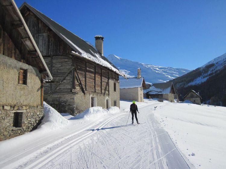 Ski de fond vallée des Fonts