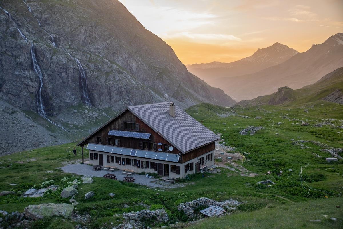 Refuge de l'Alpe © T. Blais