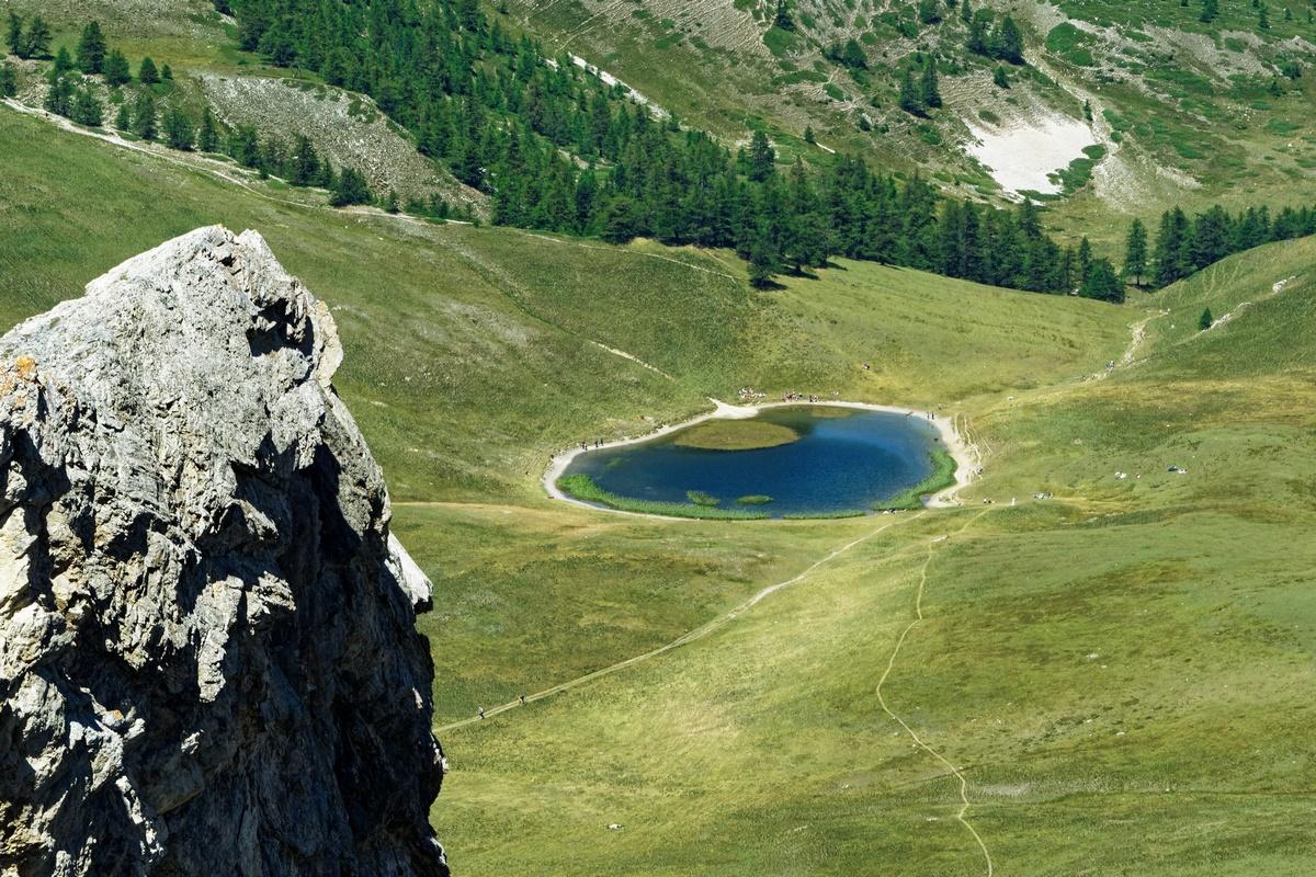 Lac Chavillon vu de l'Aiguille Rouge