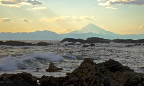 Fuji san sunset