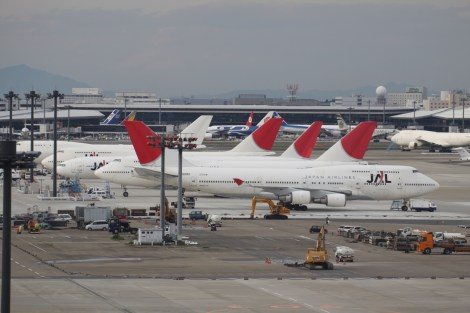 JAL fleet. Source : Aeroprints.com provided by Wiki Commons