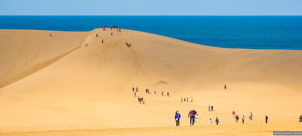 Dunes de sables à Tottori