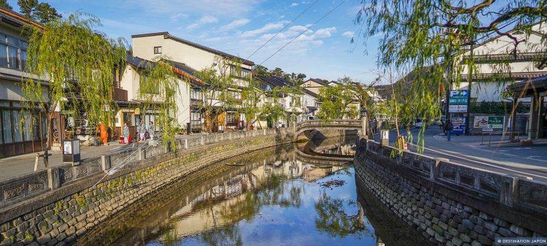 Rivière de Kinosaki onsen