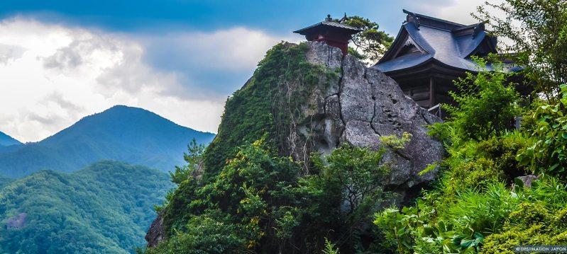Vue du sommet du Yamadera