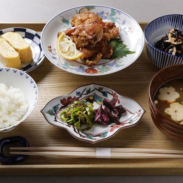 Diner complet japonais en plusieurs plats