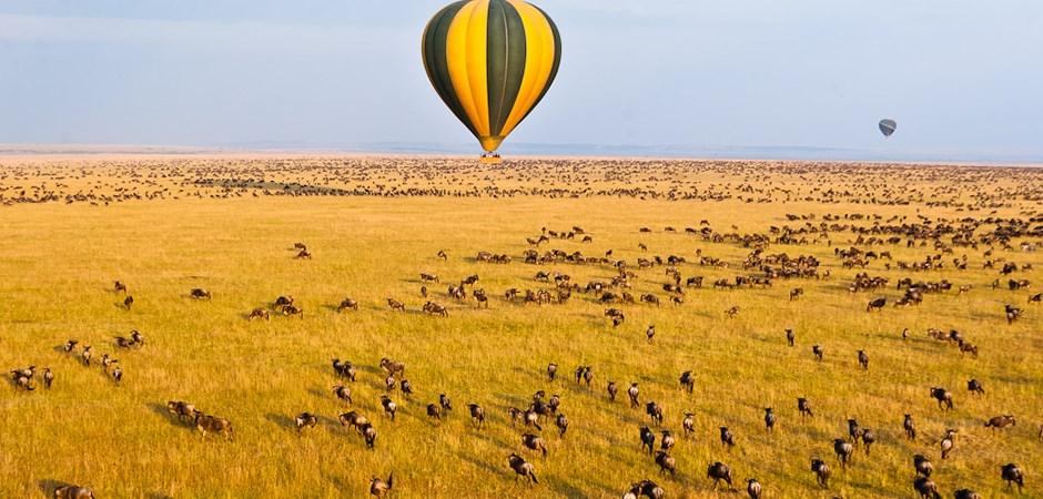 hot-air-balloon ride