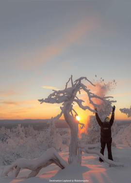 Destination Lapland - sunset