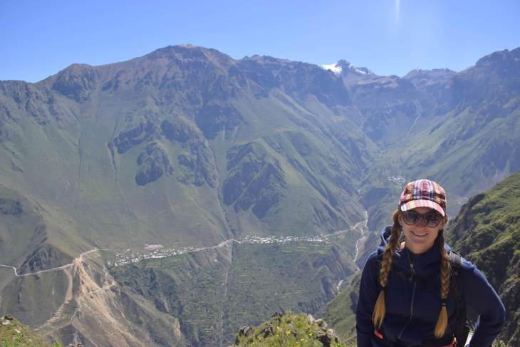 the colca canyon is gorgoeus