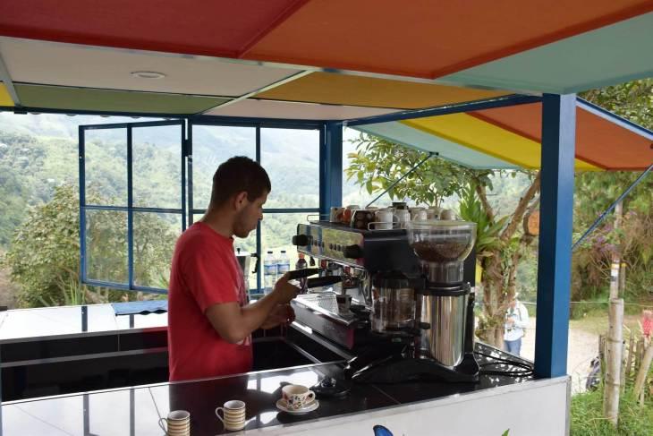 Coffee in Salento