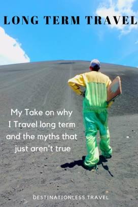 Long term travel pin