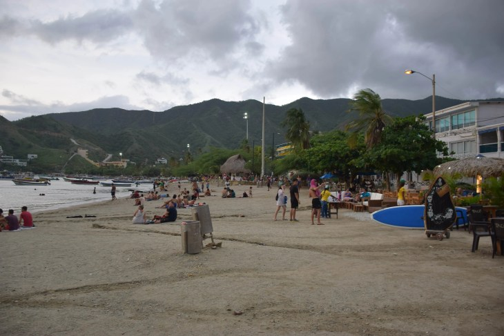 taganga colombia beach