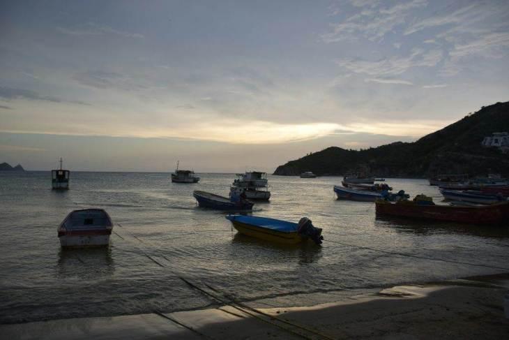 Taganga beach near Santa Marta