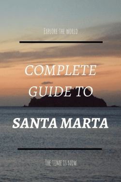 santa marta colombia travel guide pinterest