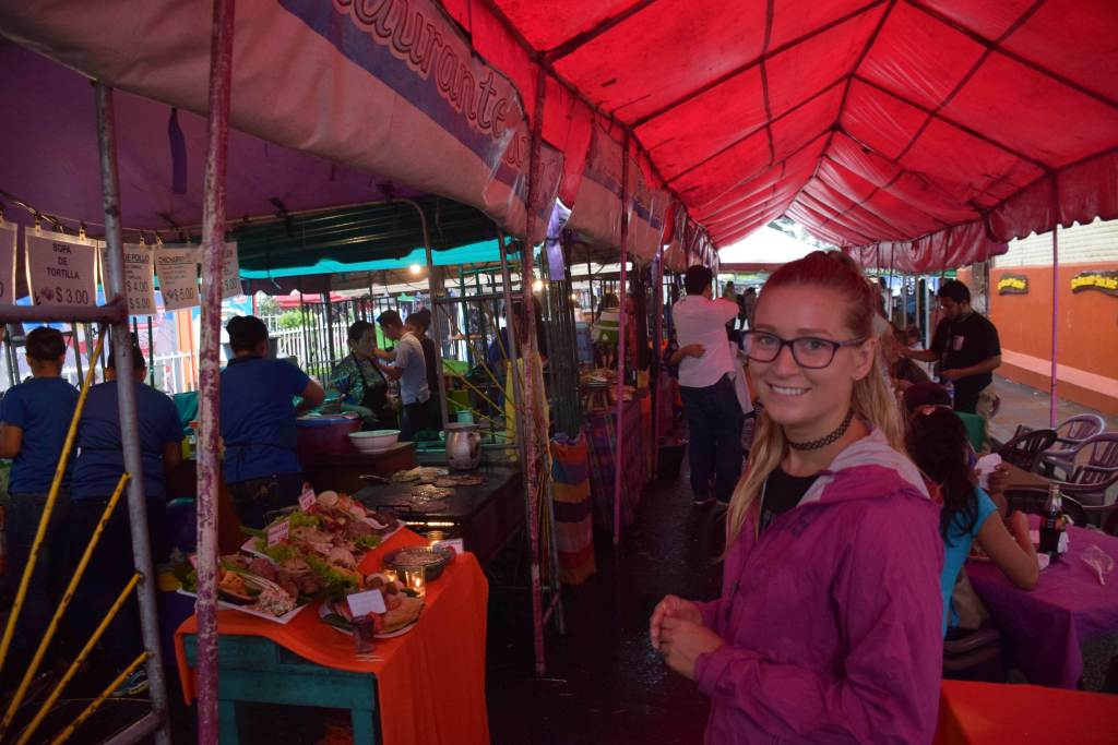 food market in juayua was one of the best places to visit in central america