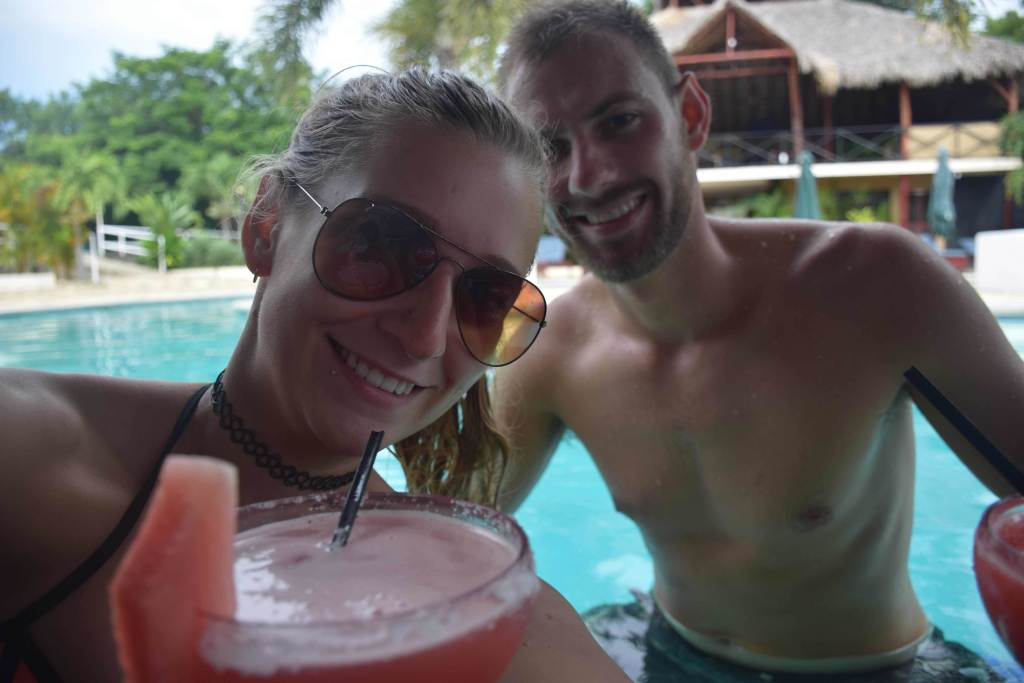 Have a couple cocktails at the pool, it should definitely be on your list of things to do in San Juan del Sur