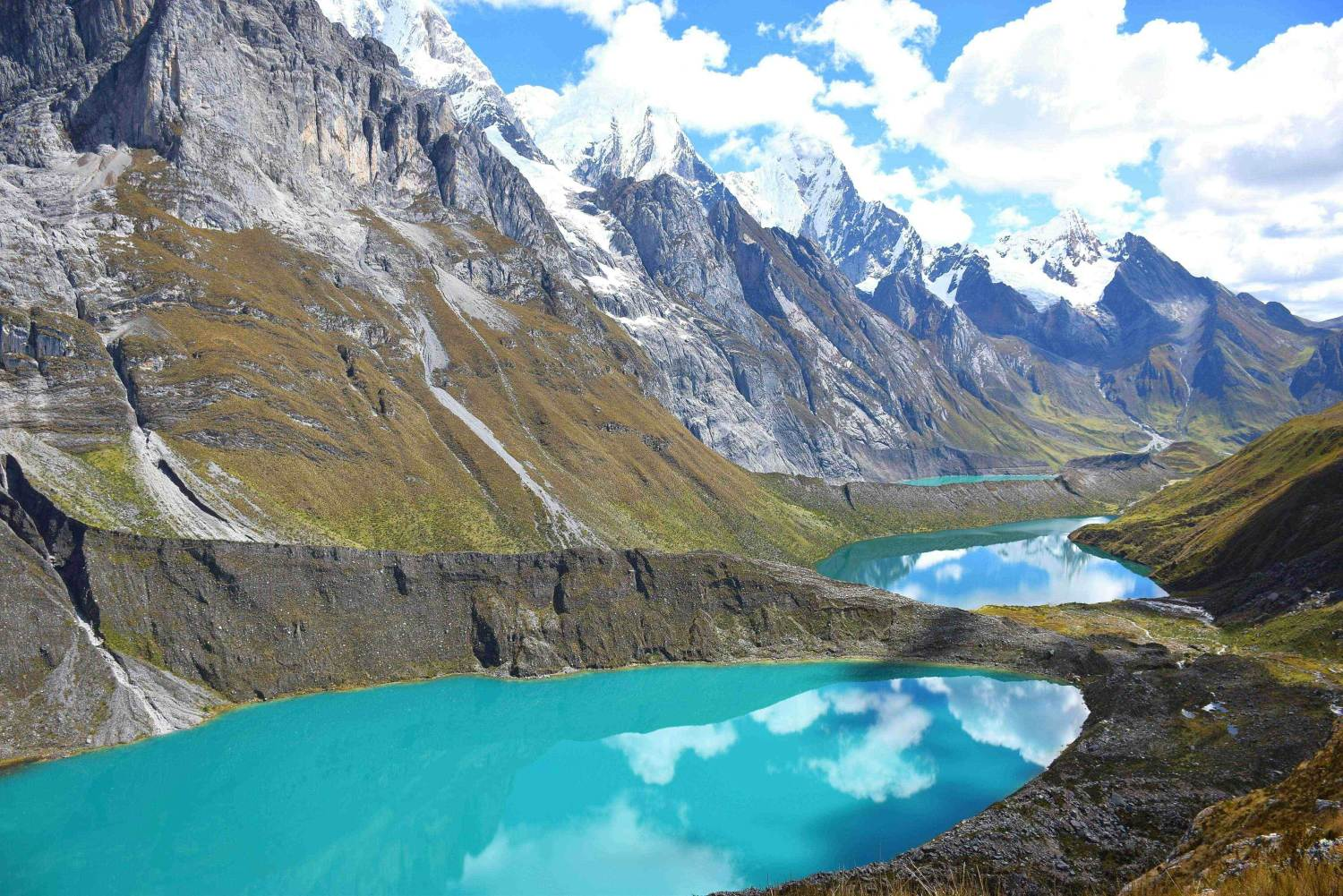 huayhuash trek in peru