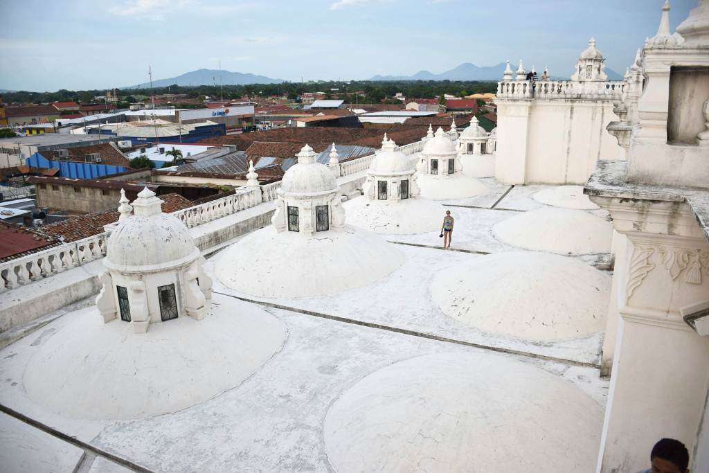 visit the cathedral in Leon as one of the best things to do in Leon Nicaragua
