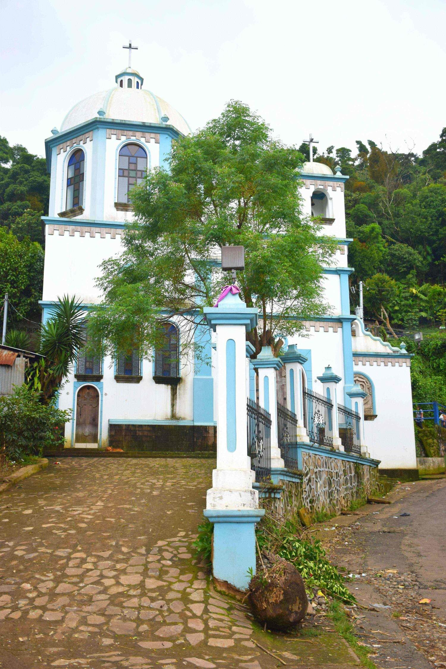 Ataco is a town on the ruta de las flores near Juayua