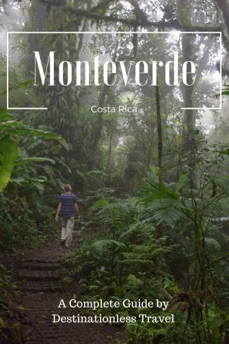 things to do in Monteverde pinterest image