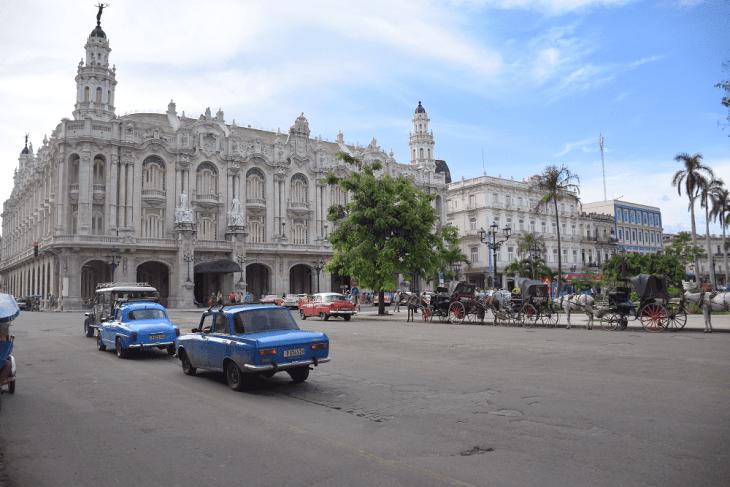 Old Havana, Central square