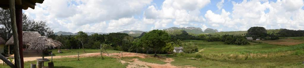 the scenery in Vinales Cuba countryside