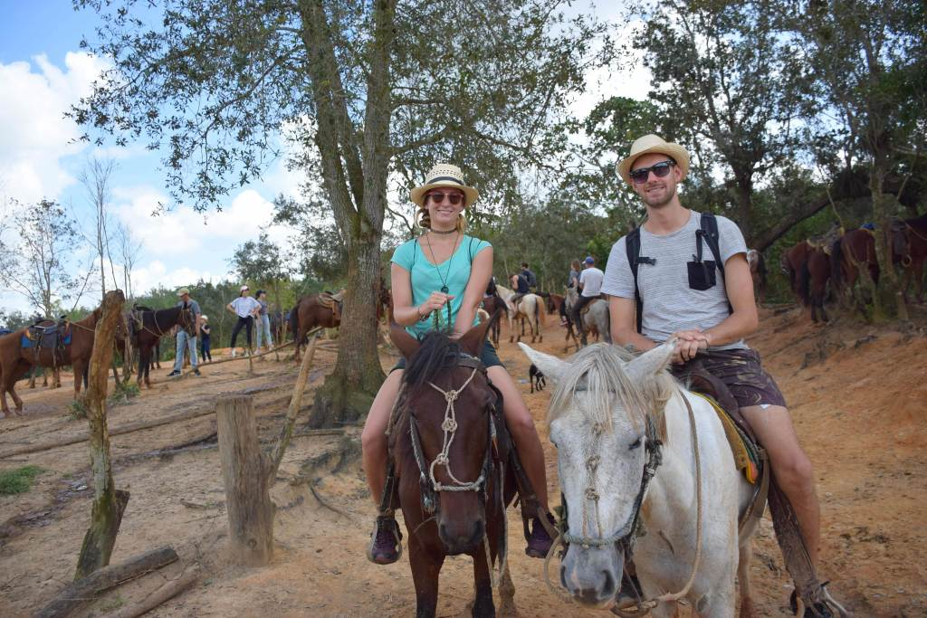 horseback riding in of the best things to do in Vinales Cuba