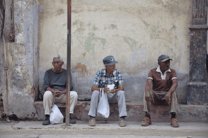 central streets of Havana Cuba