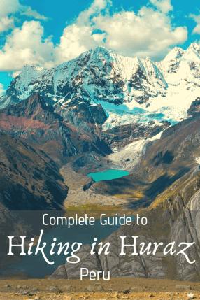 Hiking in Huaraz, Peru