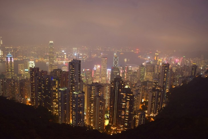 Backpacking in Hong Kong
