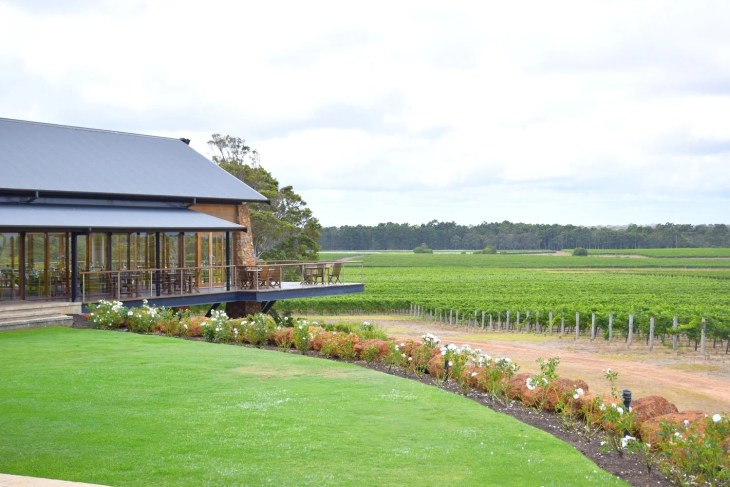 The water shed is a Margaret river wine tour stop