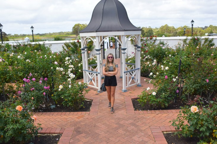 The gardens on our margaret River wine tour