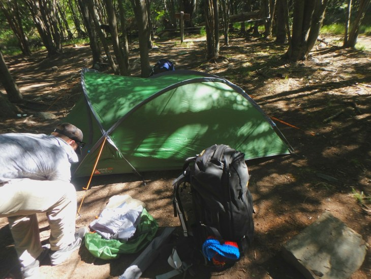 A Torres del Paine campsite