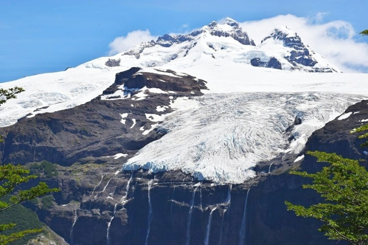 the hanging glacier is a Patagonia Highlight