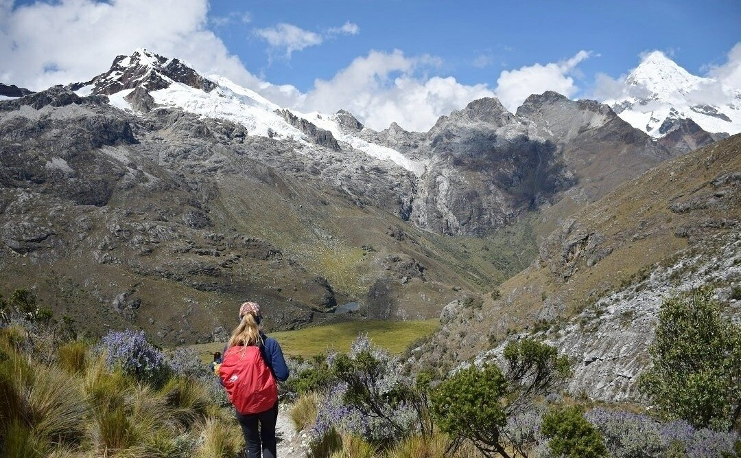 hiking in huaraz had to be the peru travel guide
