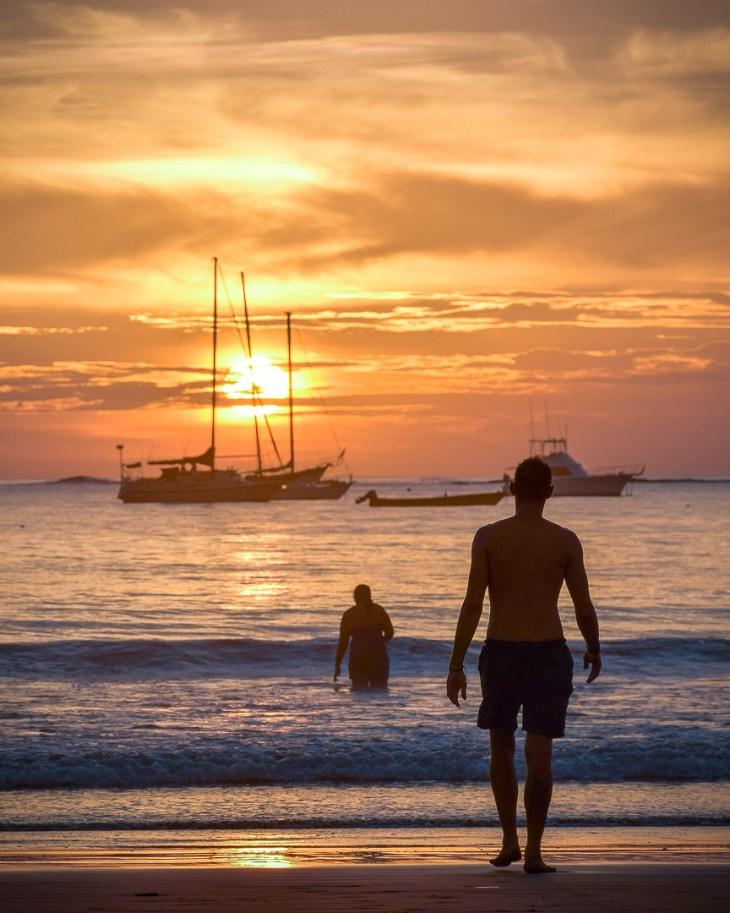 San Juan de Sur sunset, Nicaragua blog