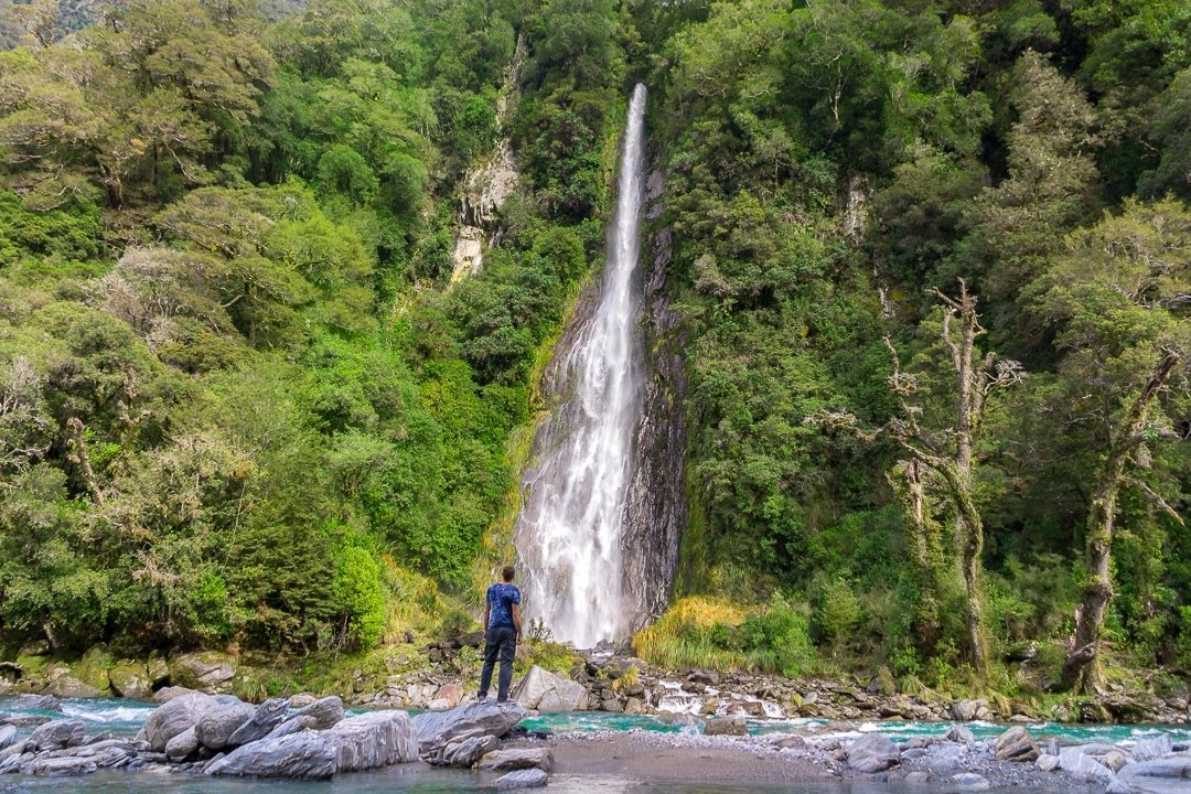 Thunder Creek Falls, New Zealand - Guide for Travelers