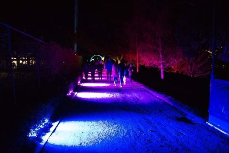 Luma queenstown light festival