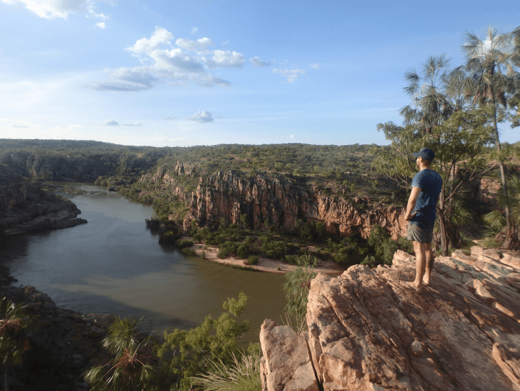 the katherine gorge is a great option of things to do near darwin