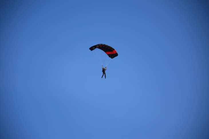 Skydiving in Darwin