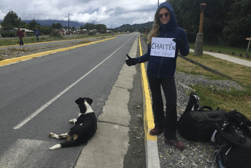 hitchhiking chile and argentina