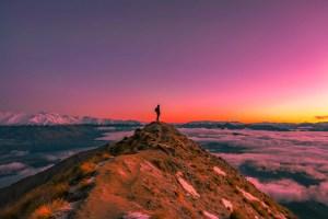 roys peak in new zealand