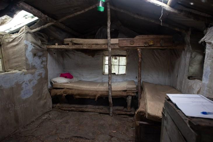 inside of sam summers hut