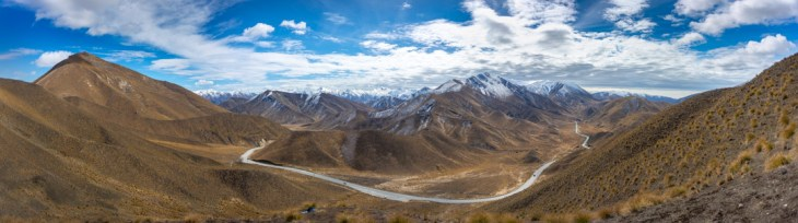 this is a photo of the view point at Lyndis pass