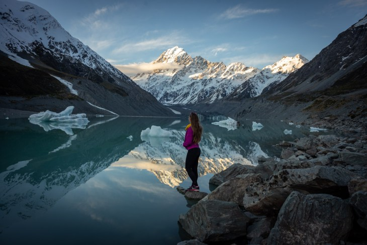 hooker valley lake is one of the best south island destinations