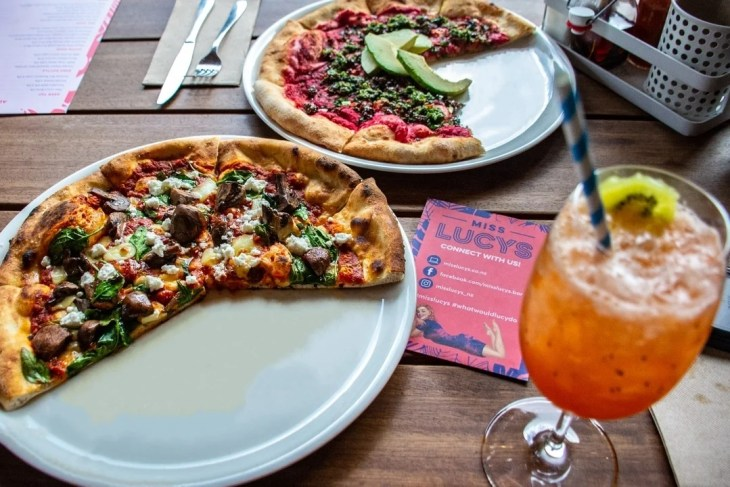 miss lucy's roof top pizzeria
