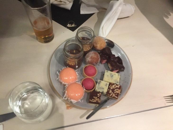 desserts at bazaar restaurant