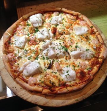 the cow pizza in queenstown
