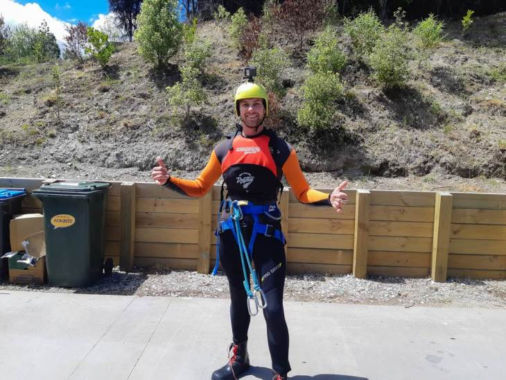Canyoning in queenstown
